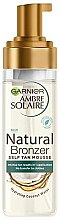 Voňavky, Parfémy, kozmetika Mušt na samoopaľovanie - Garnier Ambre Solaire Natural Bronzer Intense Clear Self Tan Mousse