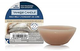 Voňavky, Parfémy, kozmetika Aromatický vosk - Yankee Candle Wax Melt Warm Cashmere