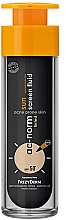 Voňavky, Parfémy, kozmetika Fluid na tvár - Frezyderm Ac-Norm Active Sun Screen Tinted Fluid Spf50+