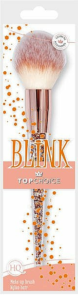 Štetec na lícenku a bronzer, 37993 - Top Choice Blink