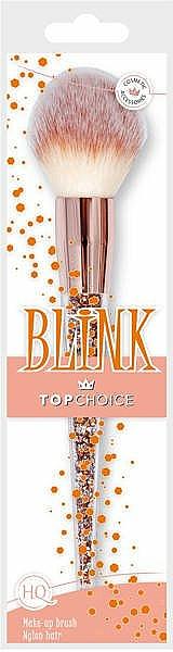 Štetec na lícenku a bronzer, 37993 - Top Choice Blink