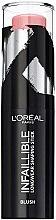 Voňavky, Parfémy, kozmetika Lícenka na tvár v tyčinke - L'Oreal Paris Infaillible Blush Shaping Stick