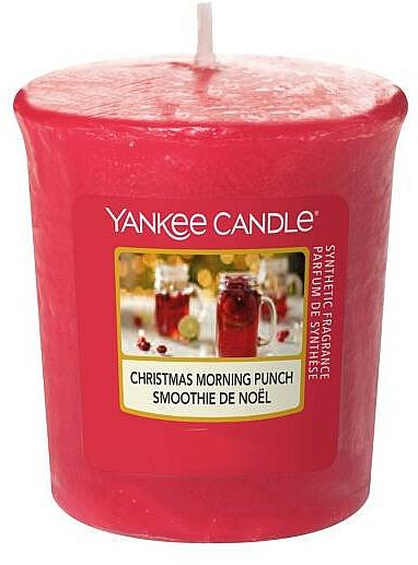 Vonná sviečka - Yankee Candle Votive Christmas Morning Punch — Obrázky N1