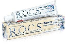 "Voňavky, Parfémy, kozmetika Zubná pasta ""Bieliaca"" - R.O.C.S. Bionica"