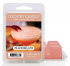 Voňavky, Parfémy, kozmetika Vosk na aromatickú lampu - Country Candle Peach Bellini Wax Melts