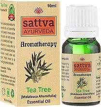 """Voňavky, Parfémy, kozmetika Éterický olej """"Čajové drevo"""" - Sattva Ayurveda Tea Tree Essential Oil"""