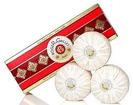 """Voňavky, Parfémy, kozmetika Sada, tri parfumované mydlá """"Jean Marie Farina"""" - Roger & Gallet Jean Marie Farina Perfumed Soaps (soap/3x100g )"""