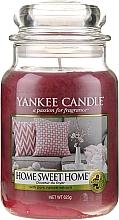 """Voňavky, Parfémy, kozmetika Vonná sviečka """"Dom milý dom"""" - Yankee Candle Home Sweet Home"""