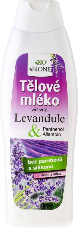 Lotion na telo - Bione Cosmetics Lavender Body Lotion