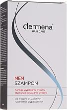 Voňavky, Parfémy, kozmetika Pánsky šampón stimulujúci rast vlasov - Dermena Hair Care Men Shampoo