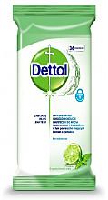 Voňavky, Parfémy, kozmetika Antibakteriálne utierky na umývanie a dezinfekciu - Dettol Antibacterial Cleansing Surface Wipes