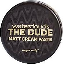 Voňavky, Parfémy, kozmetika Matná krémová pasta na vlasy - Waterclouds The Dude Matt Cream Paste