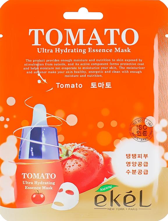 Textilná maska s paradajkovým extraktom - Ekel Tomato Ultra Hydrating Mask