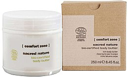 Voňavky, Parfémy, kozmetika Výživné krémové maslo na telo - Comfort Zone Sacred Nature Bio-Certified Body Butter