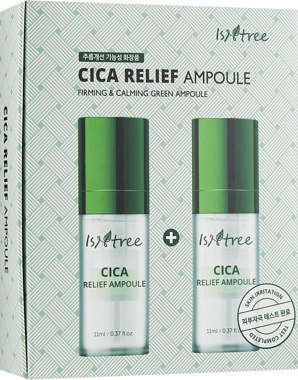 Regeneračná ampulka - IsNtree Cica Relief Ampoule — Obrázky N1