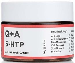 Voňavky, Parfémy, kozmetika Krém na tvár a krk - Q+A 5-HTP Face & Neck Cream