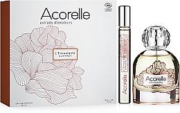 Voňavky, Parfémy, kozmetika Acorelle L'Envoutante - Sada (edp/50ml + edp/10ml)