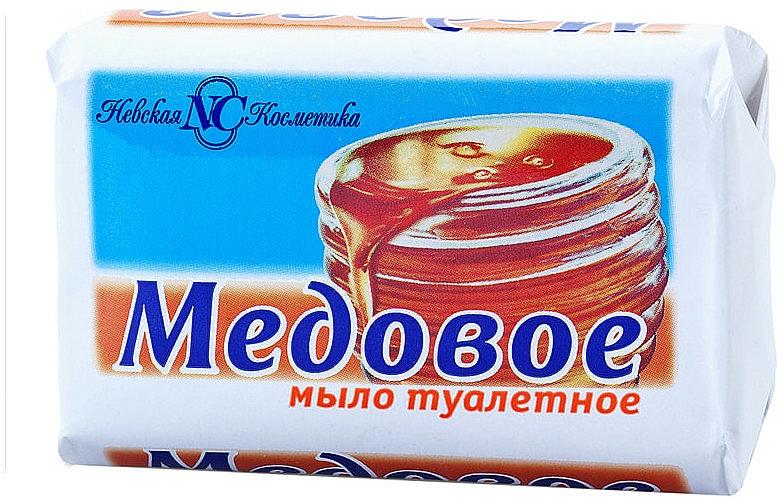 """Toaletné mydlo """"Medové"""" - Nevskaja Kosmetika"""