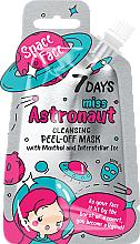 """Voňavky, Parfémy, kozmetika Zlupovacia maska """"Miss astronaut"""" s mentolom a kozmickým ľadom - 7 Days Space Face"""