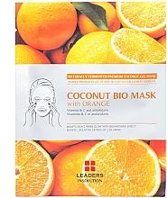 """Voňavky, Parfémy, kozmetika Hydratačná maska """"Pomaranč"""" - Leader Coconut Bio Mask With Orange"""