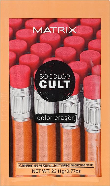 Prípravok na odstránenie farby z vlasov - Matrix SoColor Cult Color Eraser