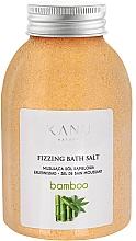 """Voňavky, Parfémy, kozmetika Šumivá soľ do kúpeľa """"Bambus"""" - Kanu Nature Bamboo Bath Salt"""