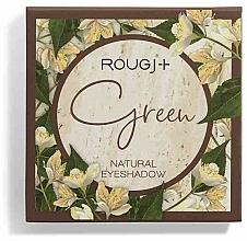 Voňavky, Parfémy, kozmetika Paleta očných tieňov - Rougj+ Green Natural Eyeshadow Palette