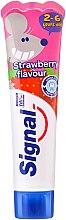 Voňavky, Parfémy, kozmetika Detská zubná pasta s jahodovou príchuťou - Signal Kids Toothpaste