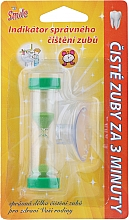 Voňavky, Parfémy, kozmetika Časovač pre čistenie zubov, zelený - VitalCare White Pearl Smile Indicator Proper Toothbrushing
