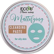 Voňavky, Parfémy, kozmetika Čistiaca pasta na tvár - ECO U Mattifying Cleansing Paste For Oily Skin