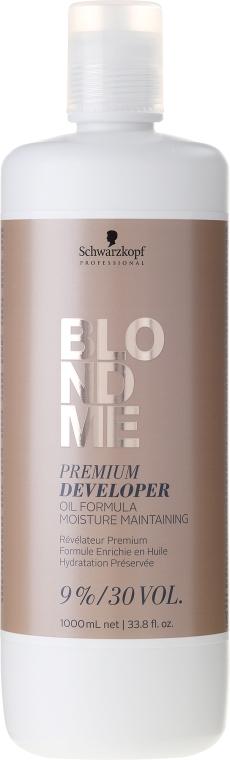 Balzam-vývojka - Schwarzkopf Professional Blondme Premium Developer 9%