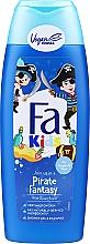 Voňavky, Parfémy, kozmetika Sprchový gél a šampón pre chlapcov - Fa Kids Pirate Fantasy