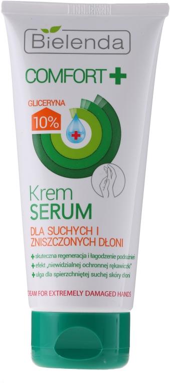 Krém pre starostlivosť o veľmi poškodené ruky - Bielenda Comfort Cream For Extremely Damaged Hand Skin
