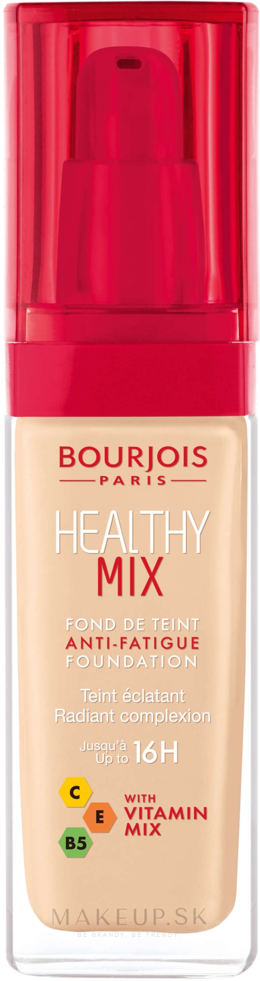 Make-up - Bourjois Radiance Reveal Healthy Mix Foundation — Obrázky 50 - Rose Ivory