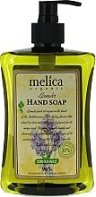 Voňavky, Parfémy, kozmetika Tekuté mydlo s vôňou levandule - Melica Organic Lavander Liquid Soap