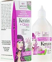 Voňavky, Parfémy, kozmetika Sérum na vlasy - Bione Cosmetics Keratin + Quinine Stimulating Massaging Hair Serum