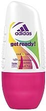 Voňavky, Parfémy, kozmetika Dezodorant - Adidas Anti-Perspirant Get Ready Cool&Care 48h