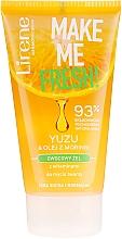 Voňavky, Parfémy, kozmetika Čistiaci gél s výťažkom z yuzu a moringovým olejom - Lirene Make Me Clean! Fresh Vegetable Gel