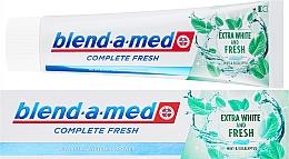 Voňavky, Parfémy, kozmetika Zubná pasta - Blend-a-med Complete Fresh Extra White & Fresh