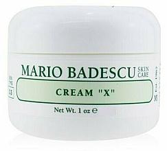 Voňavky, Parfémy, kozmetika Krém na suchú pokožku - Mario Badescu Cream X