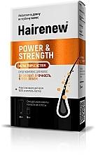 Voňavky, Parfémy, kozmetika Inovatívny komplex na vlasy 3D-efekt: sila, lesk, objem - Hairenew Power & Strength Ultra Triple Action