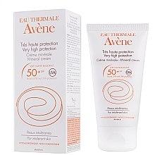 Voňavky, Parfémy, kozmetika Minerálna ochrana proti slnečnému žiareniu - Avene Solaires Mineral Cream SPF 50+