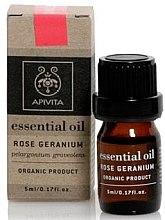 """Voňavky, Parfémy, kozmetika Esenciálny olej """"Ružové pelargónie"""" - Apivita Aromatherapy Organic Geranium Oil"""