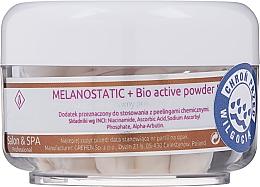 Voňavky, Parfémy, kozmetika Rozjasňujúci bioaktívny púder na tvár - Charmine Rose Melanostatic + Bio Active Powder