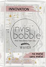 Voňavky, Parfémy, kozmetika Sponky do vlasov, priehľadné s trblietkami - Invisibobble Waver Sparks Flying