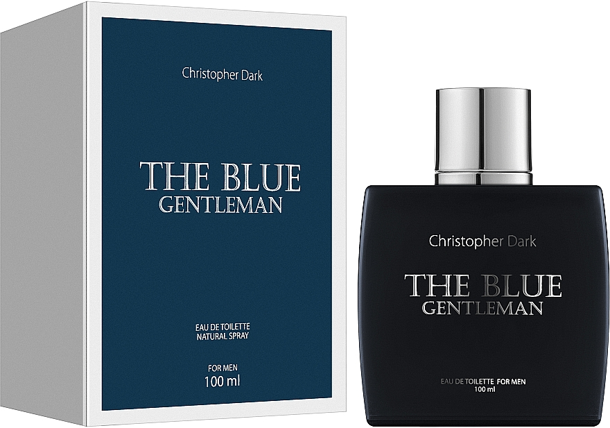 Christopher Dark The Blue Gentleman - Toaletná voda