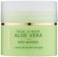 Voňavky, Parfémy, kozmetika Krém na tvár s aloe vera - Babaria Aloe Facial Wrinkle Cream