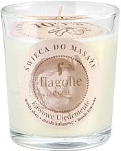 """Voňavky, Parfémy, kozmetika Masážna sviečka v pohári """"Spevňujúca káva"""" - Flagolie Coffee Firming Massage Candle"""