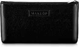 """Voňavky, Parfémy, kozmetika Kozmetická taška čierna, plochá """"Black Galaxy"""" - Makeup"""