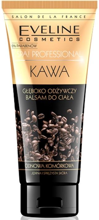 Hĺbkovo výživný balzam na telo s vôňou kávy - Eveline Cosmetics Spa Professional